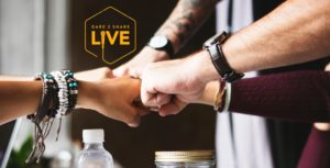 25 Hands Join in as Dare 2 Share LIVE Partners
