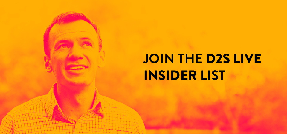 Join the Dare 2 Share Live Insider List