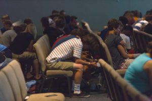 Praying at Dare 2 Share LIVE
